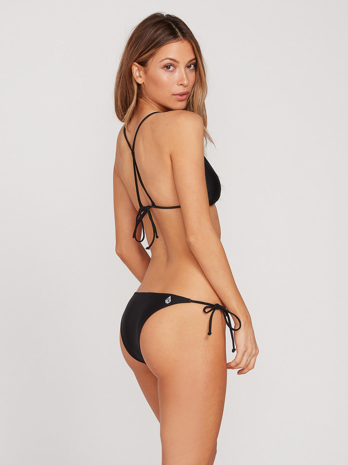 Simply Solid Skimpy Bottoms - Black (O2341901_BLK) [B]
