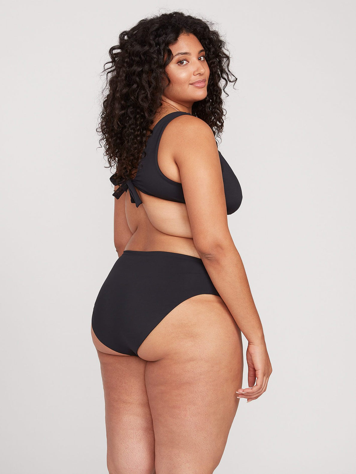 Simply Seamless Modest Plus Size - Black
