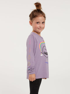 Little Girls Made From Stoke Long Sleeve Tee - Zine Purple (RR3632000_ZPP) [1]