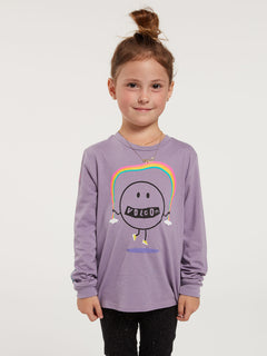 Little Girls Made From Stoke Long Sleeve Tee - Zine Purple (RR3632000_ZPP) [F]