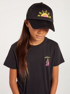 _Big Girls Hey Slims Hat - Black (S5522000_BLK) [F]