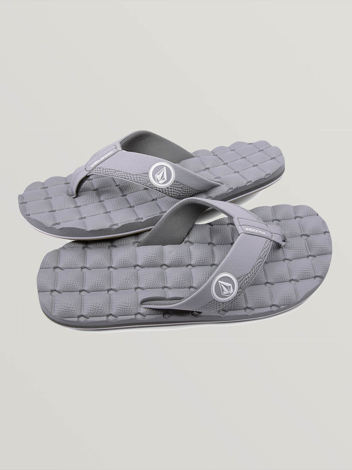 Recliner Sandals - Light Grey (V0811520_LGR) [F]