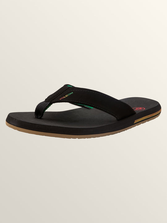 Victor Sandals In Jah, Back View