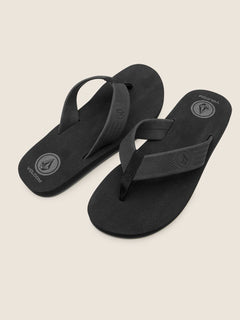 Daycation Sandal - Black Destructo