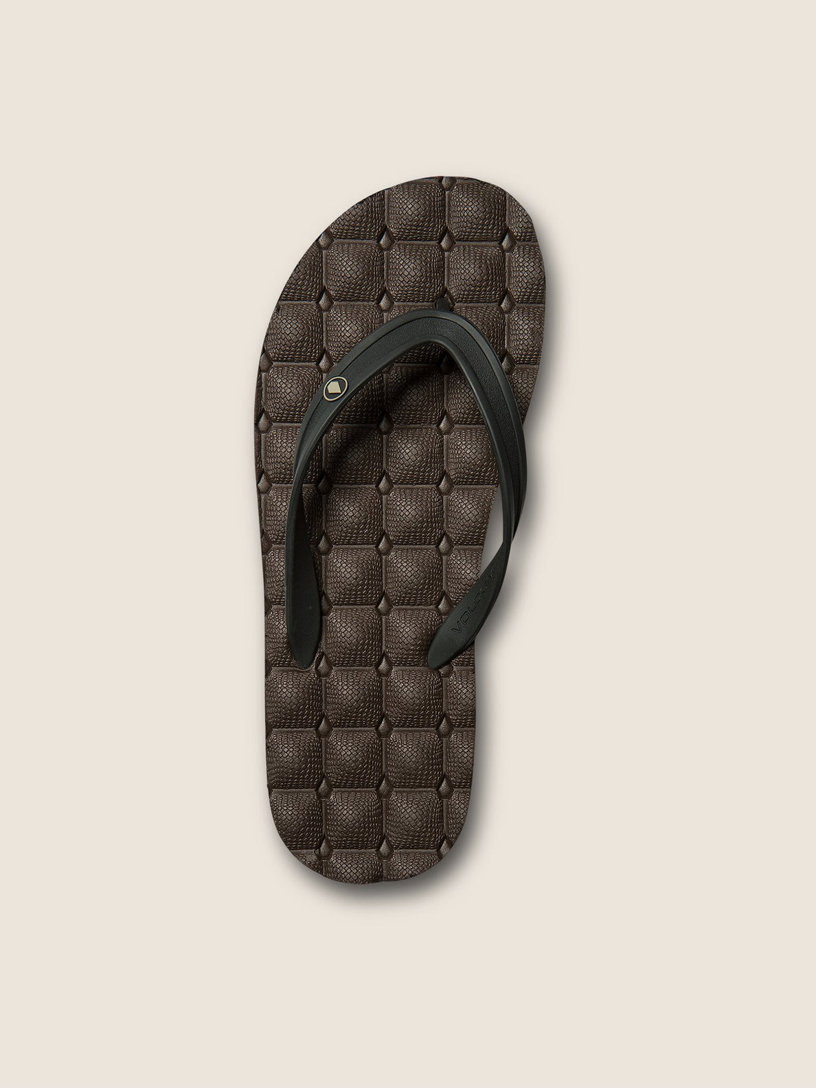 Recliner Rubber 2 Sandals In Brown Combo, Alternate View