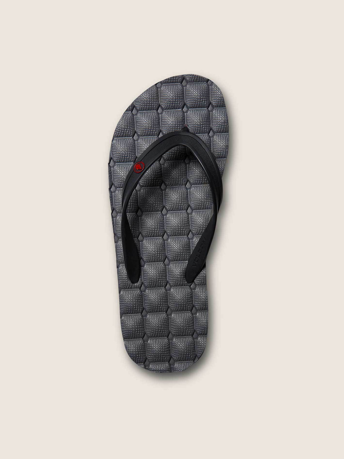 Recliner Rubber 2 Sandals In Pewter, Alternate View