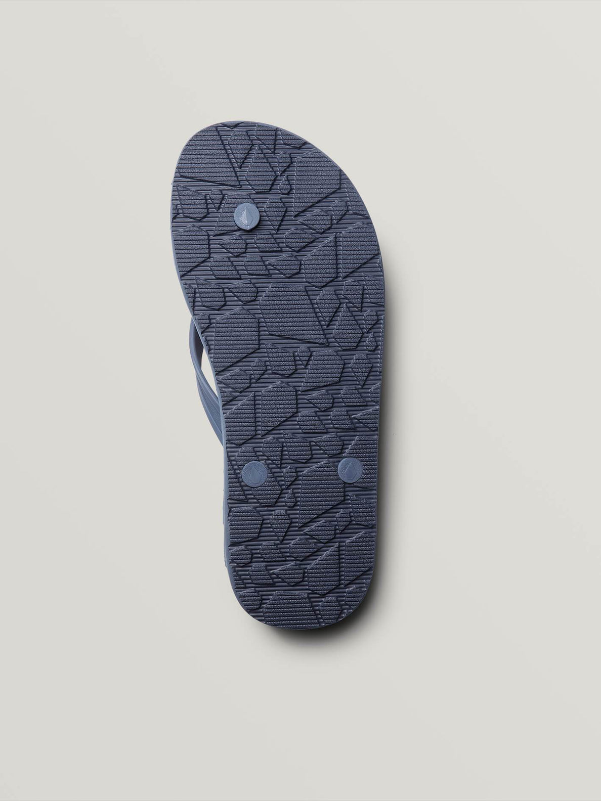 Recliner Rubber 2 Sandals In Slate Blue, Second Alternate View