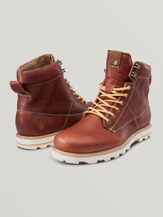 Smithington Boot In Rust, Front View