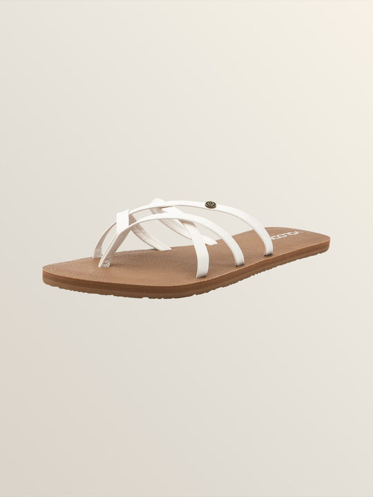 NEW SCHOOL SANDALS - White