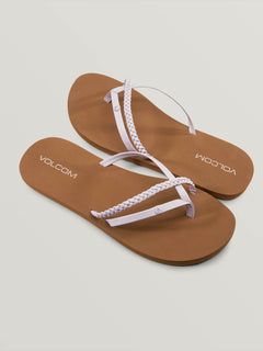 Thrills Sandals In Light Purple, Front View