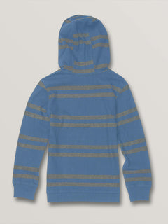 Little Boys Tehas Long Sleeve Hooded - Blue Rinse (Y0331902_RNE) [B]
