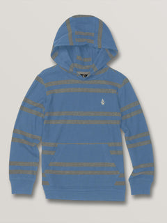 Little Boys Tehas Long Sleeve Hooded - Blue Rinse (Y0331902_RNE) [F]