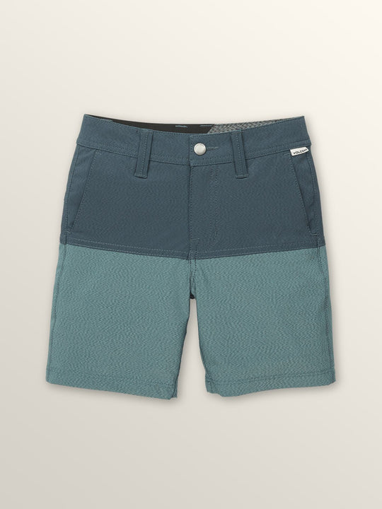 Little Boys Surf 'N Turf Block Hybrid Shorts