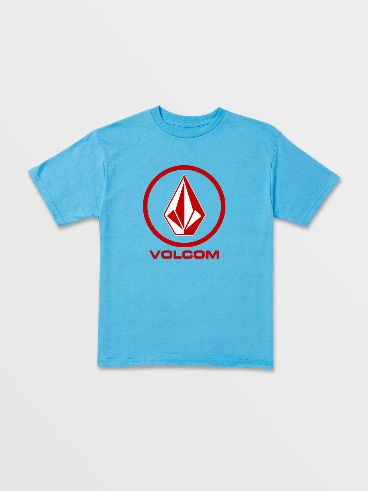 Little Boys Crisp Stone Short Sleeve Tee - Aqua (Y3511800_AQU) [F]