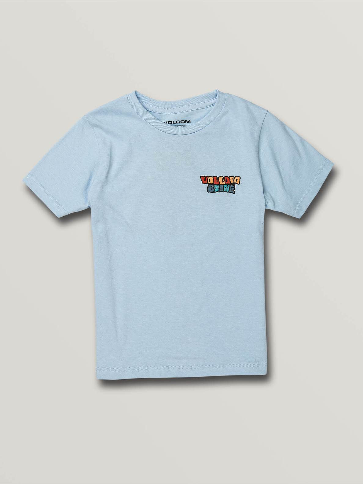 LITTLE BOYS DAY WAVES SHORT SLEEVE TEE - POWDER BLUE