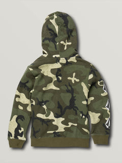 Little Boys Deadly Stones Zip Hoodie - Camouflage (Y4831930_CAM) [B]