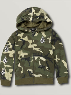 Little Boys Deadly Stones Zip Hoodie - Camouflage (Y4831930_CAM) [F]