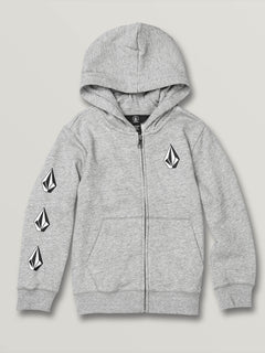 Little Boys Deadly Stones Zip Hoodie - Storm (Y4831930_STM) [F]