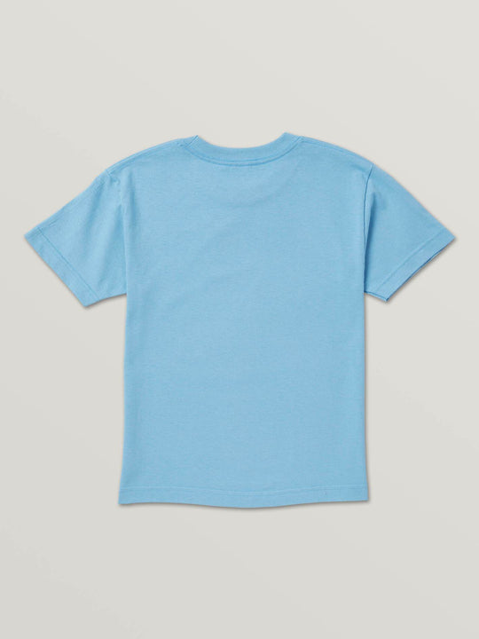 Little Boys Hot Wheels'Ñ¢ Sharkruiser Short Sleeve Tee In Light Blue, Back View