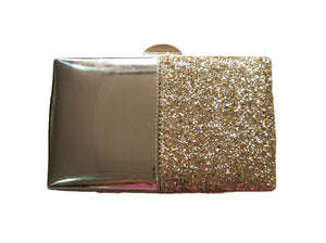Camellia Clutch Bag Gold