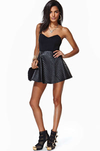 Nasty Gal Champs Faux Leather Dress Small