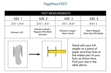 Yoga Paws Skin Thin Midnight Blue Yoga Paws Full Set Size 2.0