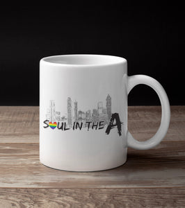 Soul in the A Pride Mug