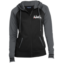 Load image into Gallery viewer, Soul in the A Ladies' Moisture Wick Full-Zip Hooded Jacket