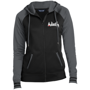 Soul in the A Ladies' Moisture Wick Full-Zip Hooded Jacket