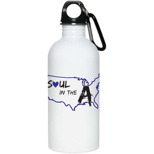 20 oz. Stainless Steel Water Bottle - Blue Soul in the A