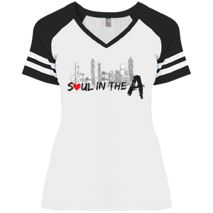 Soul in the A Ladies' Game V-Neck T-Shirt