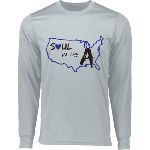 Blue Soul in the A Wicking T-Shirt (Choose White or Grey)