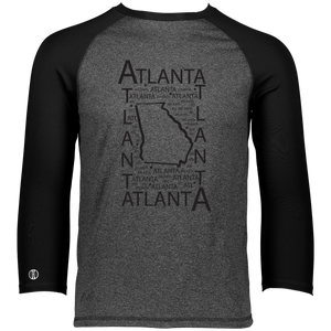 Atlanta, GA Men's Moisture Wicking T-Shirt