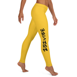 252 Vibe Leggings - Gold