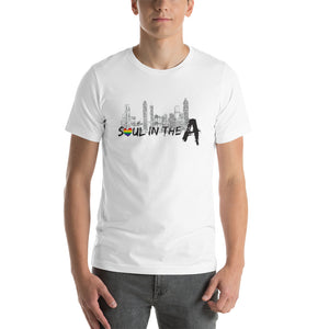 Soul in The A Pride Short-Sleeve Unisex T-Shirt - Pick White or Grey