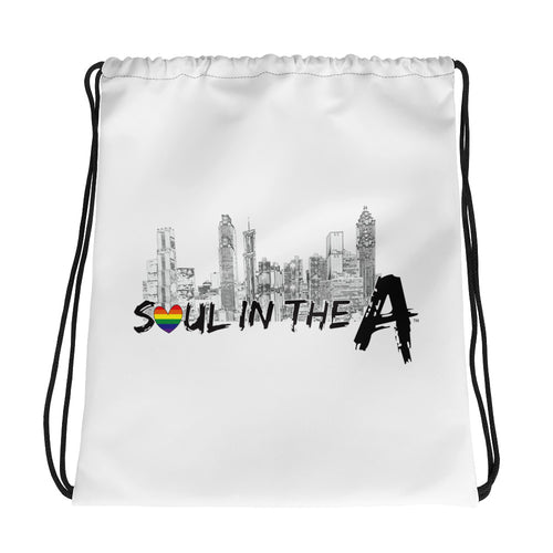 Pride Soul in the A Drawstring bag
