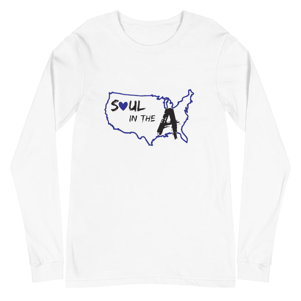 Blue Soul in the A Unisex Long Sleeve Tee