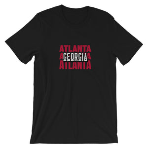 Atlanta, GA Short-Sleeve Unisex T-Shirt - Pick a color