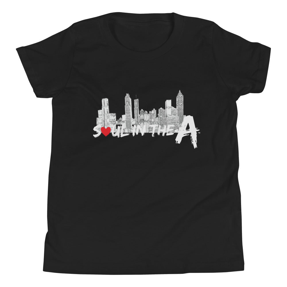 Soul in the A Youth Short Sleeve T-Shirt - Choose Black or Navy