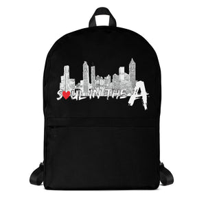 Soul in the A Backpack - Black