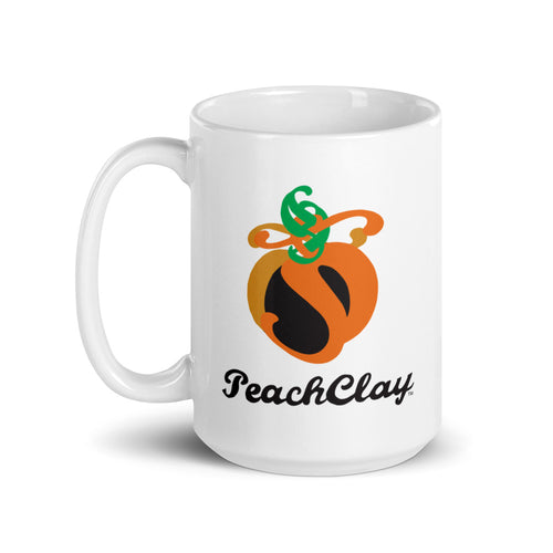 PeachClay Logo Mug Choose 11oz or 15oz