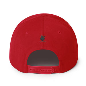 Heartbeat ATL Snapback Hat - Red & Black