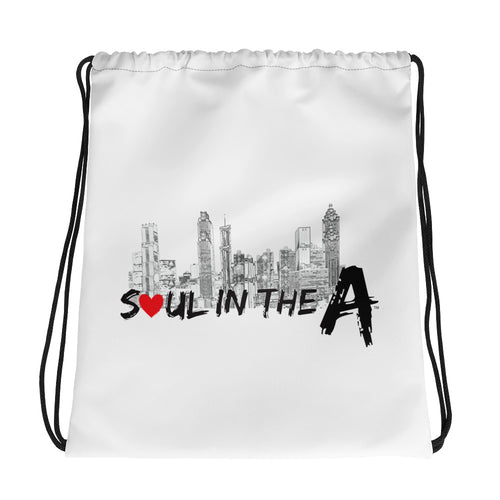 Soul in the A Drawstring bag