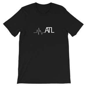 Heartbeat ATL Short-Sleeve Unisex T-Shirt