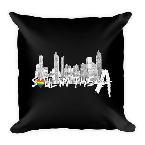 Pride Soul in the A Premium Throw Pillow 18x18