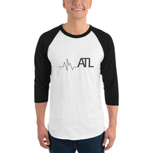 Load image into Gallery viewer, Heartbeat ATL Unisex 3/4 sleeve raglan shirt - Pick a color