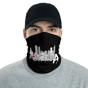 Soul in the A Neck Gaiter/ Face Mask - Black