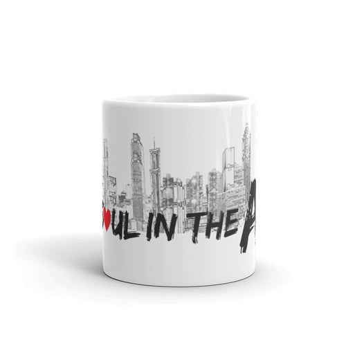 Soul in the A - White Glossy Mug
