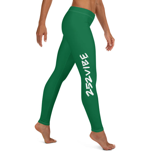 252 Vibe Leggings - Green