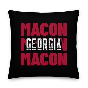 Macon, GA Premium Pillow